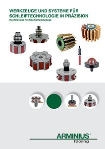 Werkzeuge und Systeme für Schleiftechnologie in Präzision